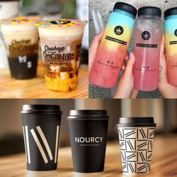 Nên dùng ly nhựa ly giấy hay chai nhựa để ship trà sữa take away